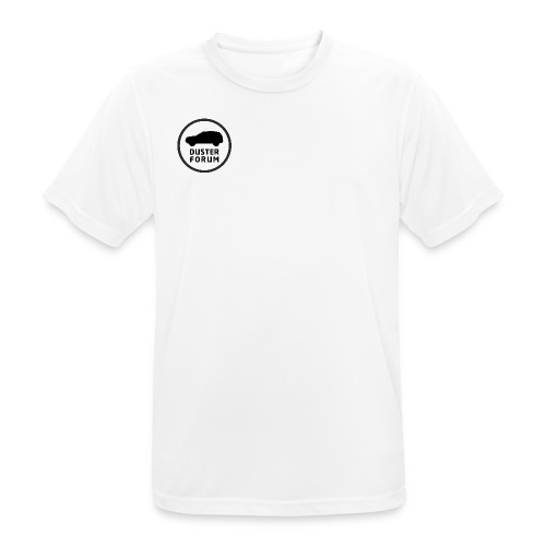 Liten Logo - Andningsaktiv T-shirt herr