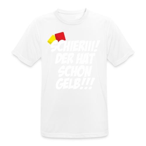 Der hat schon Gelb - Männer T-Shirt atmungsaktiv