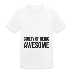 Guilty of being Awesome - Men's Breathable T-Shirt