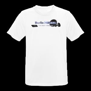 Radio PARALAX Facebook-Logo - Männer T-Shirt atmungsaktiv