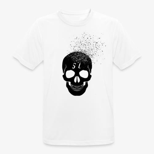 Skull esplosione - Maglietta da uomo traspirante