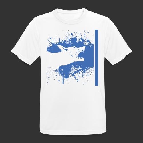 K9 Thin Blue Line - miesten tekninen t-paita