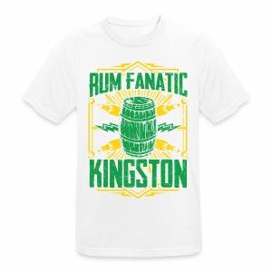 T-shirt Rum Fanatic - Kingston, Jamajka - Koszulka męska oddychająca