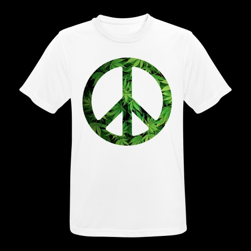 Cannapeace - Men's Breathable T-Shirt