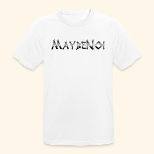 Stone Logo - Männer T-Shirt atmungsaktiv