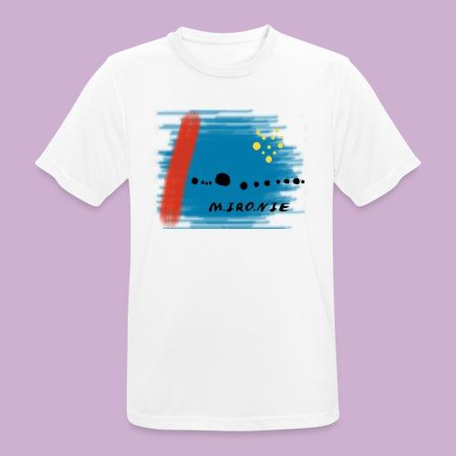 M IRO NIE - Männer T-Shirt atmungsaktiv