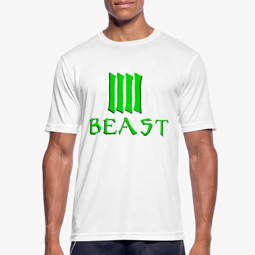 Beast Green - Men's Breathable T-Shirt