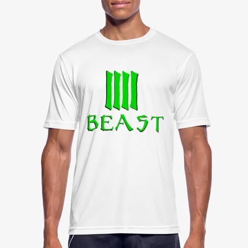 Beast Green - Men's Breathable T-Shirt