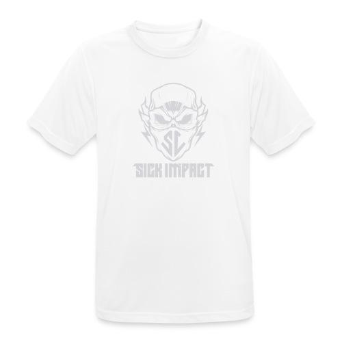 logo grey - Männer T-Shirt atmungsaktiv