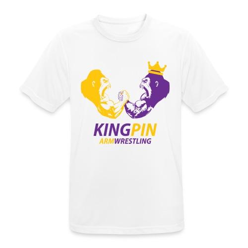 Kingpin Armwrestling - Men's Breathable T-Shirt