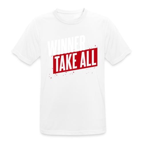 Winner take ALL - Männer T-Shirt atmungsaktiv