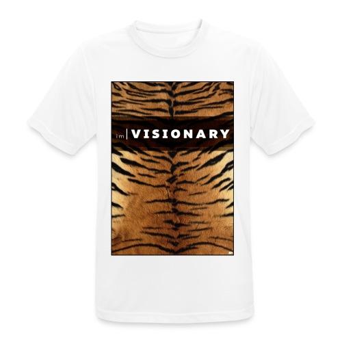 PRTCTANIMAL - Tiger | Im visionary - Men's Breathable T-Shirt
