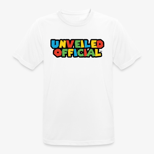 Unveiled Video Games Logo - Men's Breathable T-Shirt