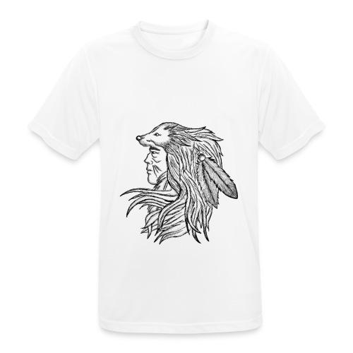 Native American - Maglietta da uomo traspirante