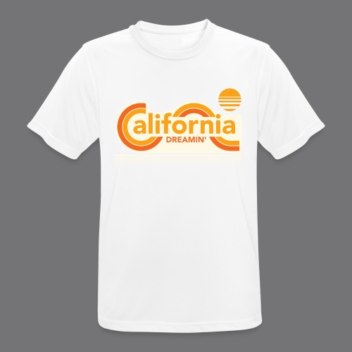 CALIFORNIA DREAMIN Tee Shirts - Men's Breathable T-Shirt