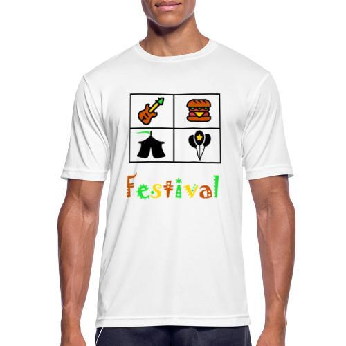 Festival Saison - Männer T-Shirt atmungsaktiv