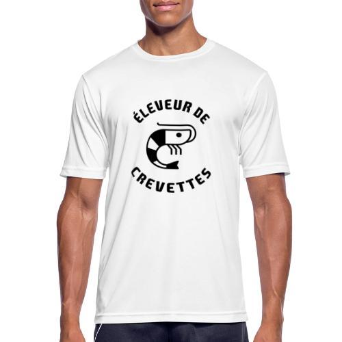 ÉLEVEUR DE CREVETTES CBS - Nouvelle version - T-shirt respirant Homme