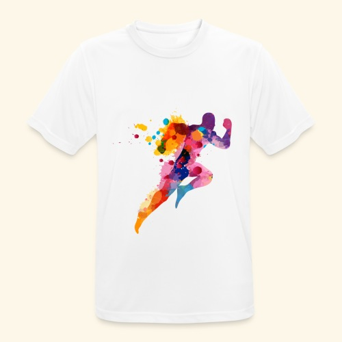 Running colores - Camiseta hombre transpirable