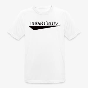 THX GOD - Männer T-Shirt atmungsaktiv