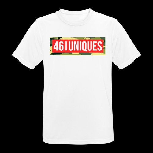 fourtysix red camo - Männer T-Shirt atmungsaktiv