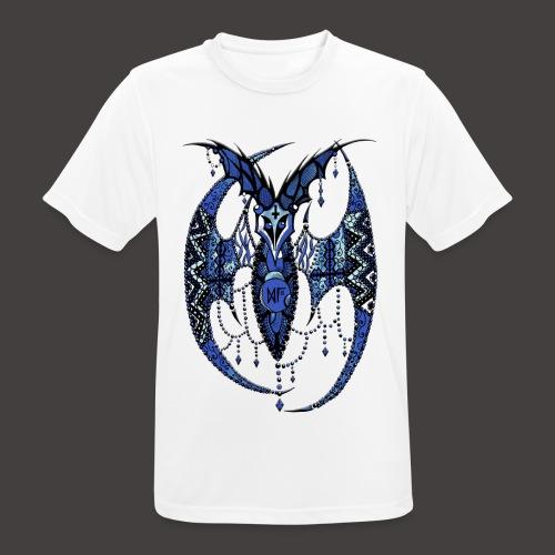 Chauve Souris Dentelle Bleue - T-shirt respirant Homme