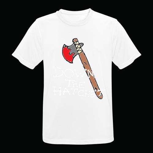 DTH Axe logo T-Shirt - Men's Breathable T-Shirt