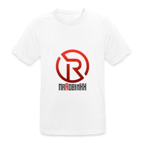 MrRobinhx - Pustende T-skjorte for menn