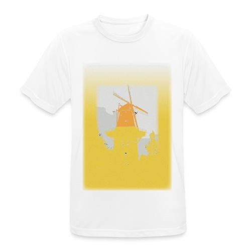 Mills yellow - Men's Breathable T-Shirt