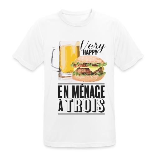 Ménage à trois - T-shirt respirant Homme