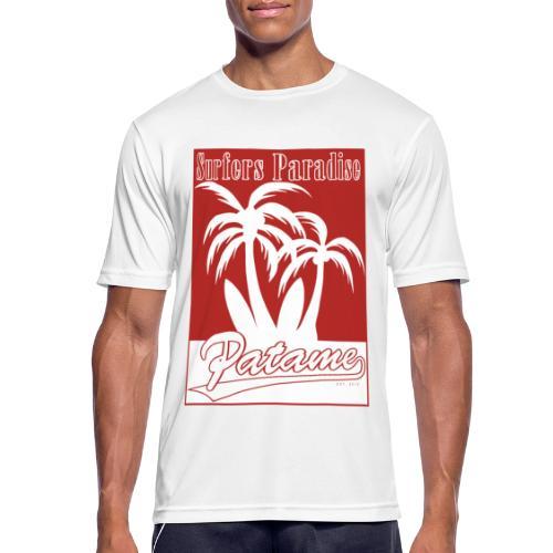 Patame Surfers Paradise Red - Männer T-Shirt atmungsaktiv