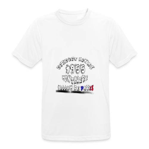 Les anciennes courses automobile - T-shirt respirant Homme