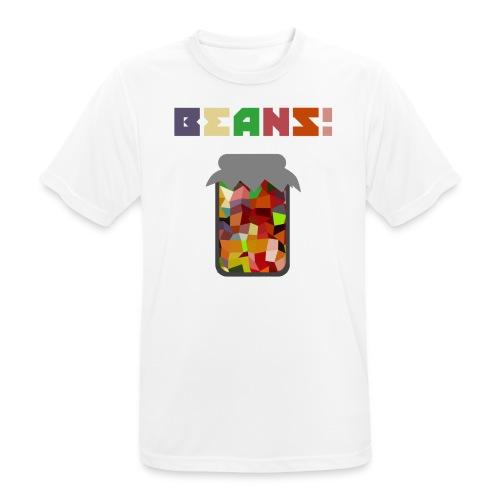 BEANS!!!! - Men's Breathable T-Shirt