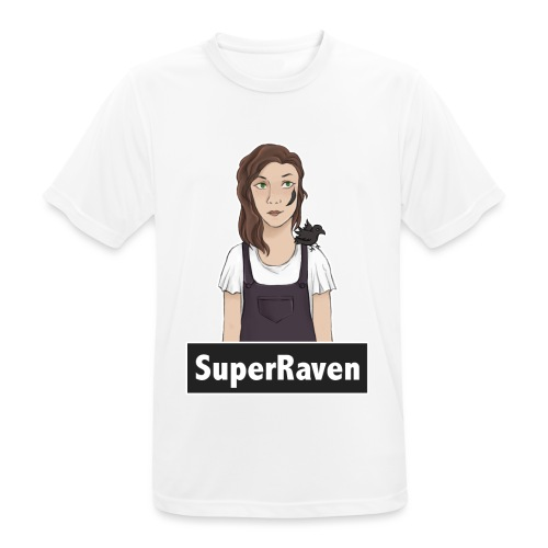 SuperRaven - Men's Breathable T-Shirt