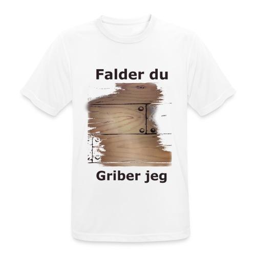 Gulvet Griber - Herre T-shirt svedtransporterende