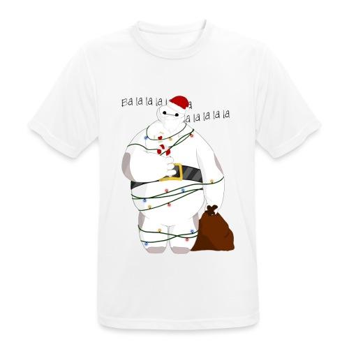 Merry Baymax - Maglietta da uomo traspirante