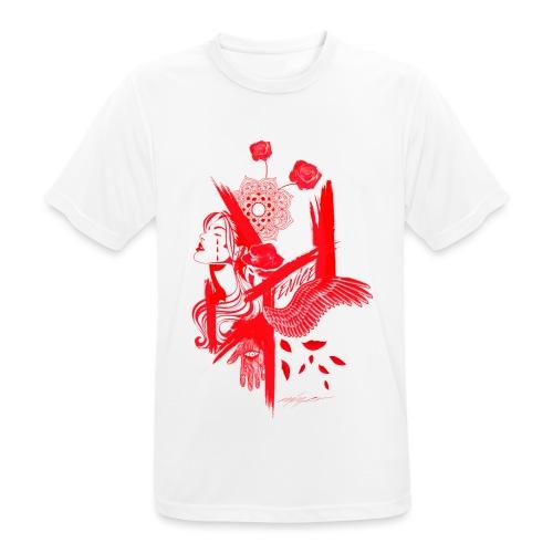 red fenix - Maglietta da uomo traspirante