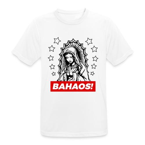Holy Mary BAHAOS White T-Shirt - Men's Breathable T-Shirt
