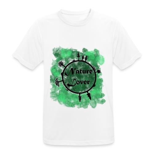 Naturliebhaber - Männer T-Shirt atmungsaktiv