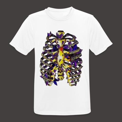 La Cage Thoracique de Cristal Creepy - T-shirt respirant Homme
