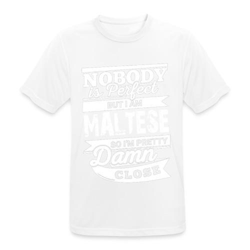 maltese - Andningsaktiv T-shirt herr