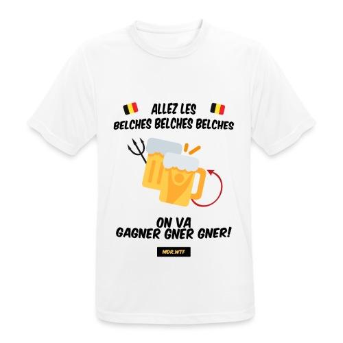 Allez les belches! - T-shirt respirant Homme