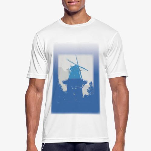 Mills blue - Maglietta da uomo traspirante