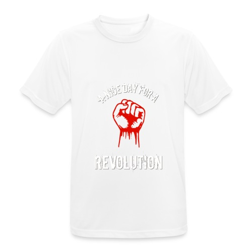 a nice day for a revolution - Men's Breathable T-Shirt