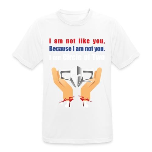 #freegigX - Männer T-Shirt atmungsaktiv