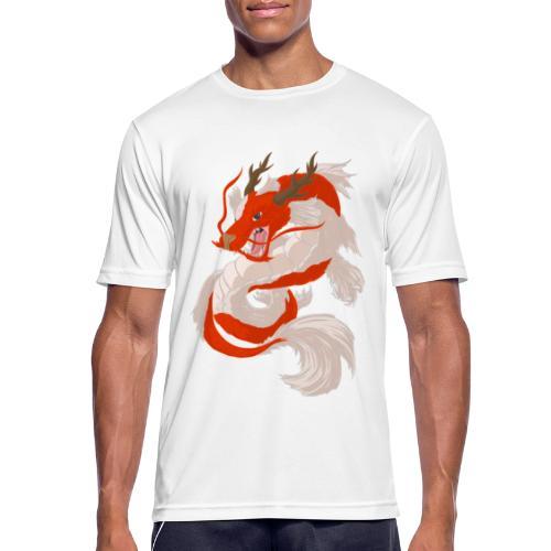 Dragon koi - Maglietta da uomo traspirante