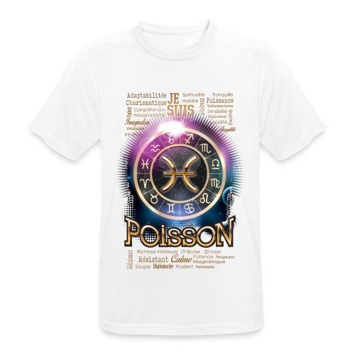 POISSONS - T-shirt respirant Homme