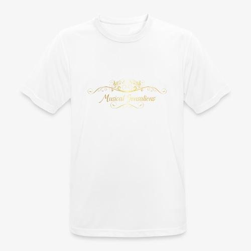 Logo Design - Männer T-Shirt atmungsaktiv
