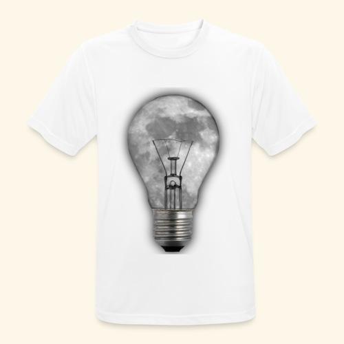 moon bulb - Camiseta hombre transpirable