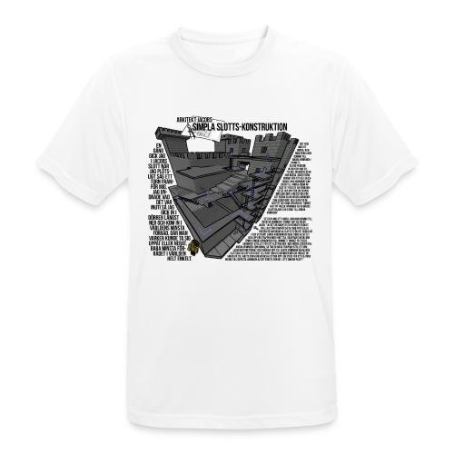 Jacobs Slott - Andningsaktiv T-shirt herr
