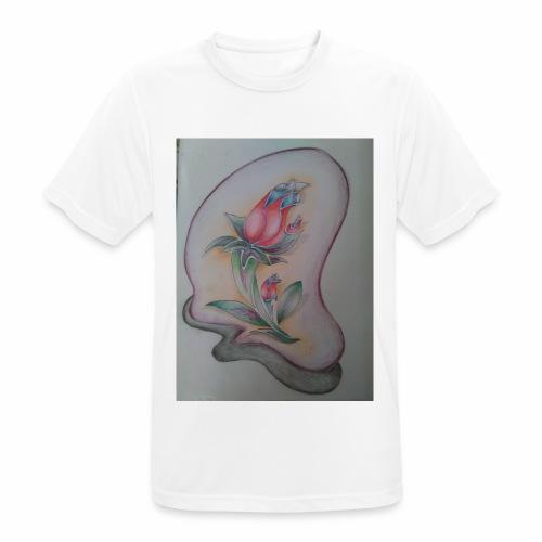 fiore magico - Maglietta da uomo traspirante